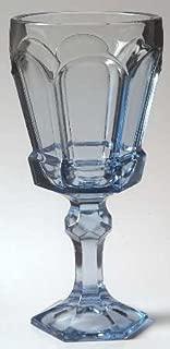 Vintage Fostoria Light Blue Glass - Set of 4 Virginia 6-5/8