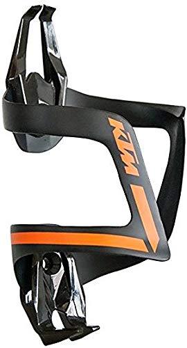 KTM Fahrrad Bike Carbon Flaschenhalter - Schwarz Orange - 39g