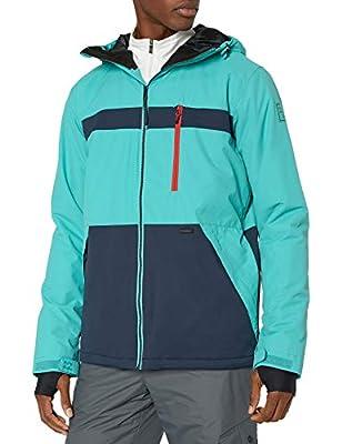 Billabong Men's All Day Snow Jacket Aqua X-Large by Billabong