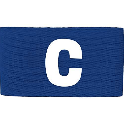 JAKO Brazalete de capitán Unisex Team, Unisex Adulto, 2809, Azul Cobalto, (02) Senior, 27x8,5cm