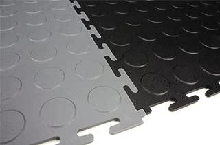 IncStores Coin Flex Garage and Shop Multi-Purpose Flooring Tiles 20.5
