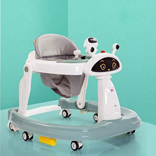 LIUCHANG Caminante del bebé del Cochecito multifunción Rollover 6-18 Meses de Edad los bebés Pueden Empuje Joven Sentado en el Plegado del Cochecito cochecitos for niños, 1 liuchang20 (Color : 2)
