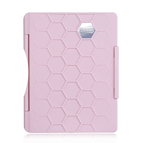 SpectrShell Water Resistant Passport Case, Thin and Strong Cover for Travel and Daily Protection for Women (Pink)
