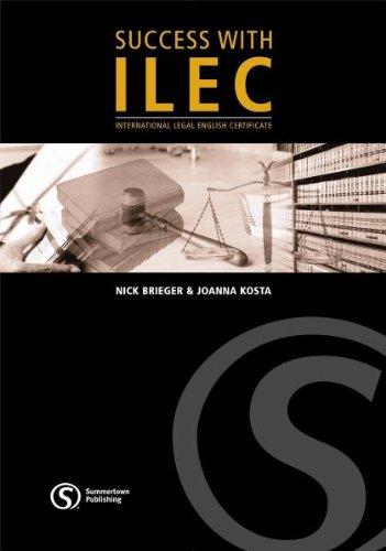 Success with ILEC - Student´s Book mit Audio-CD inkl. Lösungsschlüssel