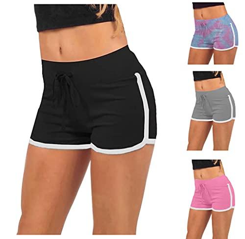 Pantaloncini Sportivi Da Donna Pantaloni Caldi Da Yoga Da Corsa Estivi Da Spiaggia Da Donna Casual Pantaloni Da Yoga-Y01