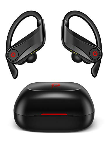 Wireless Earbuds, Stable 5.0 Bluetooth Earbuds,Bluetooth Headphone with Charging Case,HiFi Quality Sound and IPX5 Water-Proof Wireless Headphone
