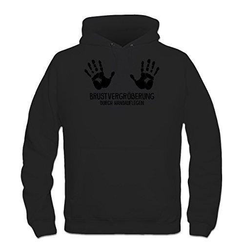 Shirtcity Brustvergrößerung durch Handauflegen Kapuzenpulli by