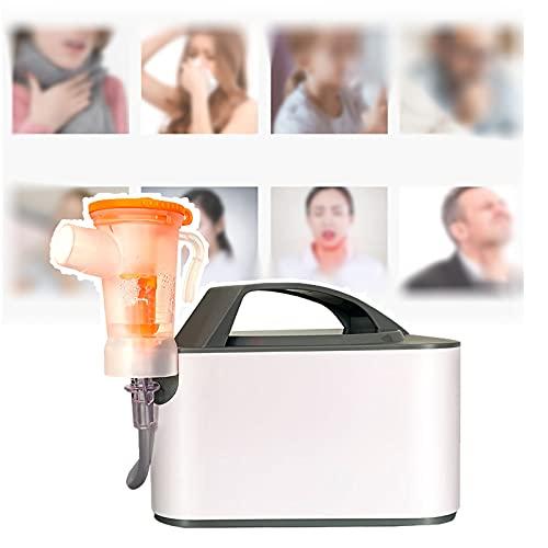 Nebulizador, Nebulizador De Aire Comprimido Médico/Doméstico De Bajo Ruido Con Mascarilla Atomizadora Y Boquilla Para Niños Y Adultos Que Trata La Tos, La Faringitis Y Los Resfriados