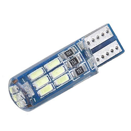 Yuquanxin T10 168 194 LED Lámpara de Placa de Coche Lámpara de Bombilla Marcador Lateral Luz Brillante Universal 12V Durable