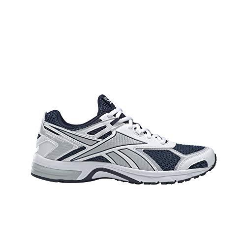 Reebok Quick Chase, Zapatillas de Running Unisex Adulto, Maruni/Blanco/CDGRY2, 47 EU