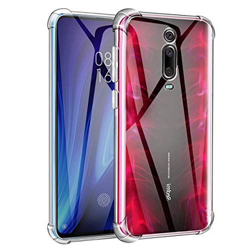 Funda para Xiaomi Mi 9T/9T Pro - Ultra Fina Silicona Transparente TPU Evita el amarilleo, Carcasa Xiaomi Mi 9T/9T Pro, Anti-Choque Airbag Protector Esquinas Reforzadas OUJD