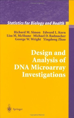 Design and Analysis of DNA Microarray Investigations (Statistics for Biology and Health)