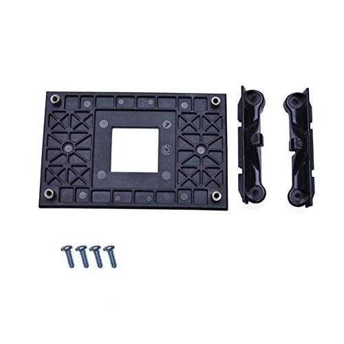 Soporte de ventilador de refrigeración de CPU, soporte de ventilador de CPU resistente para placa trasera para AM4