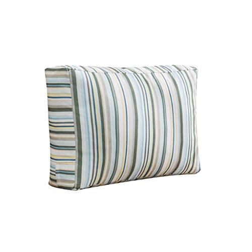 LQF Cojín Rectangular de algodón for el sofá Atrás Cojín Tres Dimensiones Almohada Minimalista Cojín Moderno Almohada Amortiguar-10.30 (Size : 70X40X15CM)