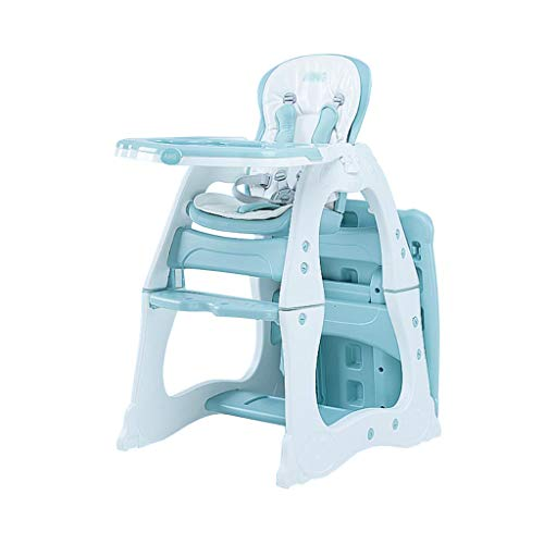 Check Out This kiss idbaby Baby Highchair Removable Multifunction Table Chair Double Food Tray