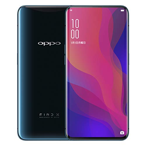 OPPO Find X サイレントブルー 【日本正規代理店品】 871316