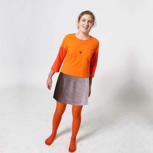 MINI ROCK aus Wolle für Herbst und Winter, blau oder braun
