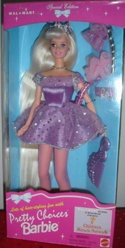 Pretty Choices Barbie Doll Pink Long Hair