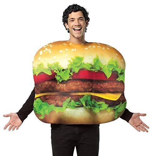 Rasta Imposta Cheeseburger Kostüm - Mehrfarbig - Standard