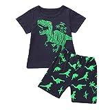 Completi per bebè per maschietti, bimbi piccoli per bambini maschi dinosauri pigiami esti...