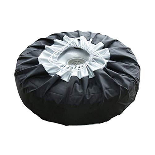 szlsl88 - Bolsas de almacenamiento para neumáticos de repuesto a prueba de polvo para neumáticos de 13 a 19 pulgadas, 1/2/4 piezas
