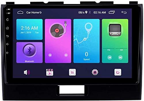 Navegación de Coche Android Car Stereo Sat Nav para Suzuki Wagon 2010-2018 Unidad Principal Sistema de navegación GPS SWC 4G WiFi BT USB Mirror Link Carplay Incorporado
