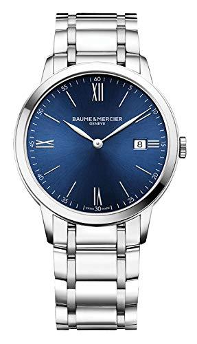 Baume et Mercier Classima MOA10382 - Reloj para hombre con esfera azul