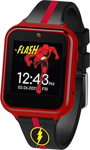 DC Comics Reloj inteligente interactivo The Flash con pantalla táctil (modelo:...