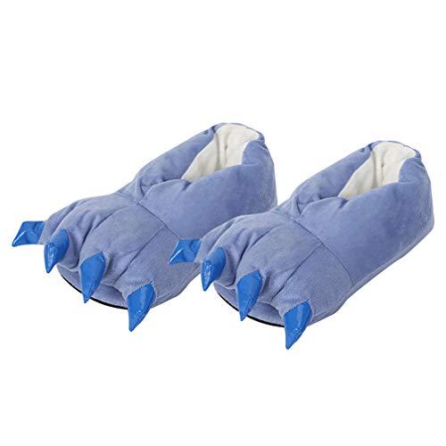 Holibanna Neuheit Tier Pfote Kralle Hausschuhe Erwachsene Kinder Tier Hausschuhe Plüsch Wohnungen Schuhe
