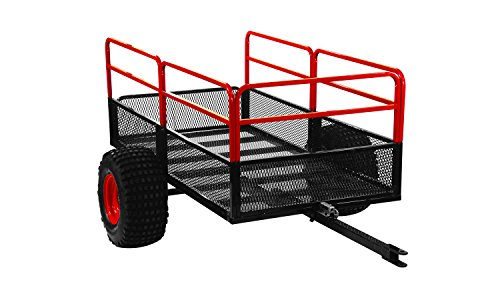 Yutrax Trail Warrior X2 Heavy Duty UTV/ATV Trailer – for Off-Road Use - 1,250 lb. Capacity