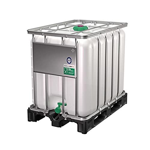 DIE BOX FABRIK IBC Container 600 Liter NEU | auf PE-Palette | Einfüllöffnung: 150mm | Schiebehahnventil 50mm | IBC Tank | Wassertank | Regenwassertank