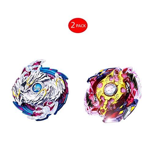 YZKJ 2 Set Juguetes educativos Beyblade Burst Gyro Peonzas -