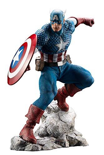 Kotobukiya Estatua Capitán América 18 cm. Marvel