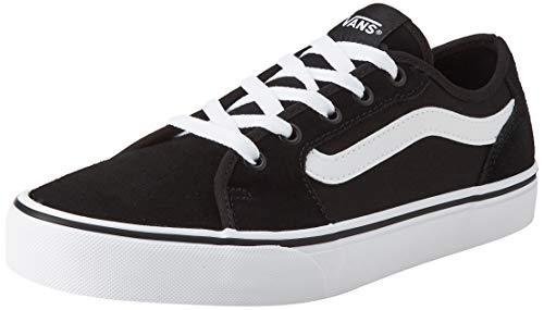 Vans Filmore Decon, Zapatillas Mujer, Suede/Canvas Black/White, 41 1/3 EU