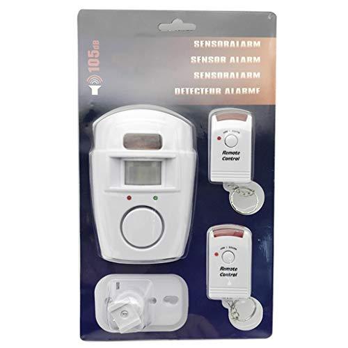 Puerta de Yanhonin/protección del robo, inducción del cuerpo humano con la alarma del alto decibel, teledirigido infrarrojo
