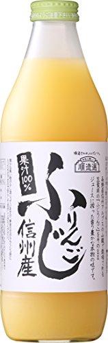 マルカイコーポレーション 順造選 ふじりんご 瓶1000ml [3713]