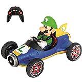 Carrera RC Mario Kart Mach 8 avec Figurine de Luigi – Véhicule radiocommandé avec Batterie Rechargeable – Jouet pour Enfants à partir de 6 Ans, 370181067, coloré