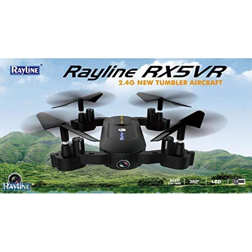 RC Quadcopter Rayline X5VR 2.4GHz 4 Kanal Drohne inkl. Rayline VR 2 Videobrille