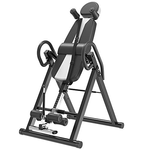 Sale!! Indoor Fitness Exercise - Household Heavy Duty Inversion Table with Headrest & Adjustable Pro...