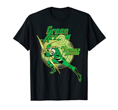 DC Comics Green Arrow Emerald Archer T-Shirt
