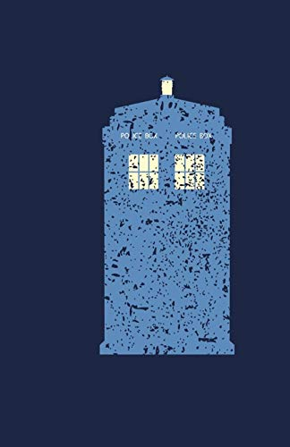 Dr. Who Tardis Dot Grid Journal 8.5 x 5.5: Time Travel Journal Gift for Whovians fans of Doctor Who 9th 10th 11th 12th 13th Doctor