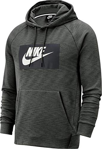 Nike heren NSW Optic Hoodie Po Gx T-shirt, blauw (Sequoia), (maat fabrikant: Large)