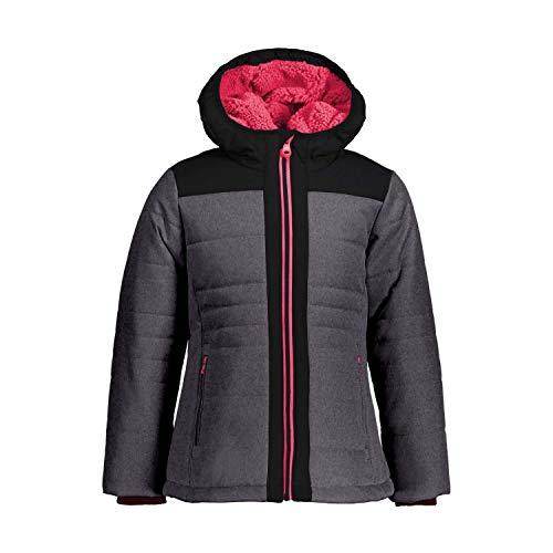 CMP Mädchen Jacke Girl Jacket Fix Hood 39K3125 Nero Mel. 98