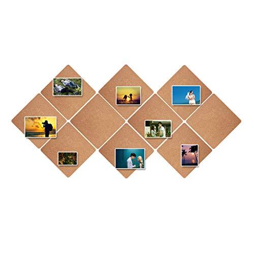 66LYN Foto-Wandkorken-Selbstklebende Wandaufkleber-Brett-Kiefern-Brett-Foto-Wand-kreative Anschlagbrett-Kindergarten-Hintergrund-Wand-Büro-Kultur (Color : Brown)