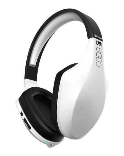 iFrogz IF-CFB-WHT Audio Coda Forte Bluetooth Headphones with Mic - White