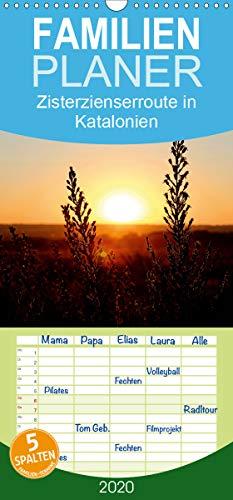 Zisterzienserroute in Katalonien - Familienplaner hoch (Wandkalender 2020 , 21 cm x 45 cm, hoch): Spiritualität, Natur sowie Kultur - Die ... (Monatskalender, 14 Seiten ) (CALVENDO Orte)