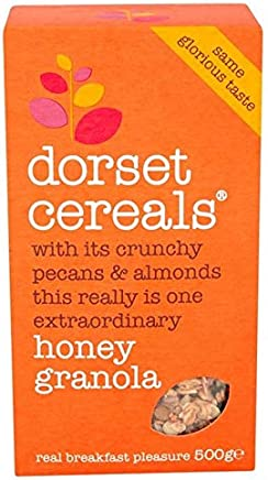 [Dorset Cereals ] ドーセット穀物の蜂蜜のグラノーラ500グラム - Dorset Cereals Honey Granola 500g [並行輸入品]