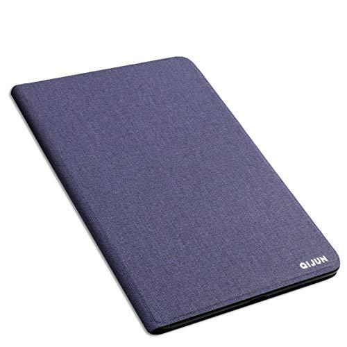 Hülle für Lenovo Tab A8-50 8.0 Zoll A5500 a5500-h a5500-f 8.0 Hülle Tablet Hülle Ständer Leder Schutzhülle Rückenschale-Navy blau