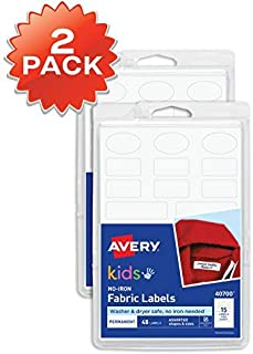 Avery 40700 Etiquetas para ropa de niños, no necesita