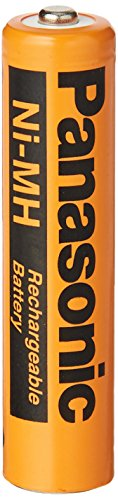 8 Pack Panasonic NiMH AAA Rechargeable Battery for Cordless Phones,Orange